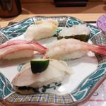 金沢まいもん寿司 - 人気の加賀百万石握り(1,300円)