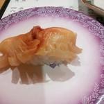 金沢まいもん寿司 - 赤貝1貫(460円)