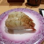 金沢まいもん寿司 - がすえび(460円)