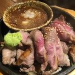 あぶり 清水 - ハラミポン酢(中)650円