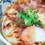 驛釜きしめん - ミニきしめん(ミニ麺定食)