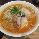 天成園 - 料理写真:ピリ辛!味噌ラーメン2018.05.20