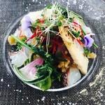 サンクゼール・ワイナリー - 桜鯛のサラダ
