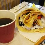 86420017 - いちごバナナミルフィーユ+オーガニックコーヒー