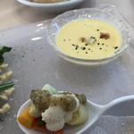 86420861 - 前菜でスープ
