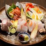 横浜紅葉坂日本酒 ふじひら - 料理写真:5種盛り