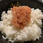 86424628 - 明太子☆ご飯と〜(^.ー^)/イタダキ.。.:*☆