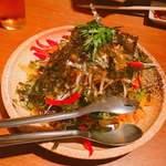 新陳代謝 辛辛食堂 - 韓国海苔とちりめんじゃこの大根サラダ
