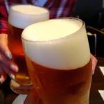 マダニス - 生ビールで乾杯!