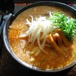 麺屋蔵人 - 焼き味噌ラーメン
