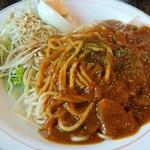 珈琲 あめんぼ - 料理写真:カレーソーススパゲティ