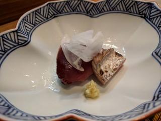 肴とお酒 うを弘 - カツオ藁焼き