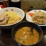 さっぽろ 純連 - 味噌つけ麺+ミニチャーハン