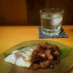 おおはま - 蛍いかと〆鯖の燻製盛り