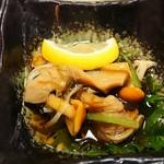 寿司居酒屋や台ずし - なめこもずく酢