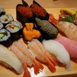 寿司居酒屋や台ずし - 頼んだ寿司