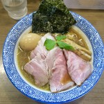 煮干しつけ麺 宮元 - 料理写真:「特製極上煮干しそば」(980円)