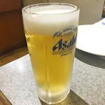 ぼてじゃこ - やっぱり生ビール!