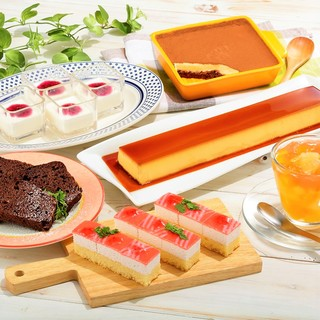 デザートも種類豊富な食べ放題!