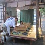 花山 - 屋台といってもここの屋台はなんと小上がりのお座敷も完備してあります