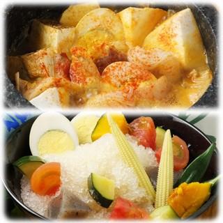 【新メニュー登場】夏野菜の冷やしおでん&火鍋おでん