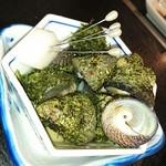 友食亭 あいびす - シタダミという地の貝。やたら美味しくて安い
