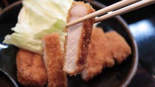 とんかつ山本 - ろーすかつ定食¥1,900