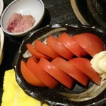 炭火焼肉屋台 たじま屋 - トマト