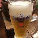 房家 - 生ビール