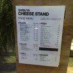 渋谷チーズスタンド - サラダやピッツァやサンドイッチもあります。