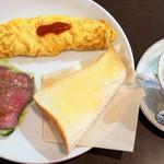 モコルル - ドリンク+100円の夜モーニング