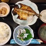 大塚せんや - えぼ鯛塩焼き定食