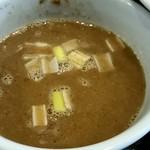 雨ニモマケズ - つけ麺のスープ!