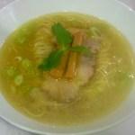 86445183 - 「塩らぁ麺(850円)」[平成30年5月23日(水)]