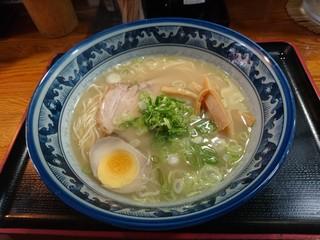 らぁめん 丈 - 煮干し鶏白湯(700円)2018年5月