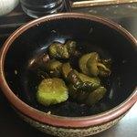 とん皇 - 胡瓜の漬物