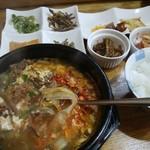 韓食堂 - ユッケジャンスープ