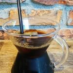 ル・シュクレクール - アイスコーヒー550円(税込み)