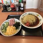 日高屋 - 黒酢しょうゆ冷し麺。       税込530円。       美味し。