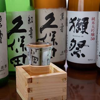 獺祭などプレミアム日本酒や人気銘柄取り揃えております