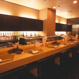 ◇宴会・接待・会食◇全40席。和の風情漂う店内は寛ぎの空間