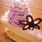 モンシュシュ - 紫芋のケーキ