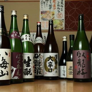 料理をさらにおいしく!【日本酒】&【焼酎】で至極の乾杯を!