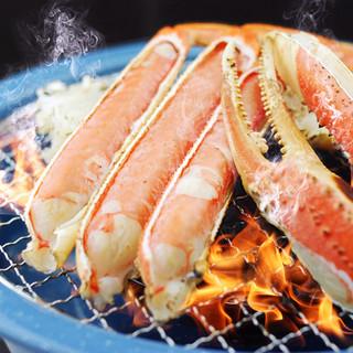 ズワイ蟹料理