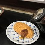 松下製麺所 - 松下製麺所(香川県高松市中野町)コロッケ 90円