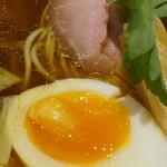 麺酒一照庵 - 鶏中華そば 生醤油・ランチご飯セット 鶏めしご飯大盛