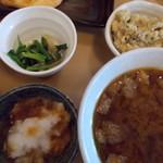 おおばやし食堂 - おふくろ定食650円