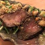 肉バルDenny - 肉バルDenny(東京都大田区蒲田) ・ローストビーフのタルタルステーキ