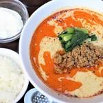 麺や たけまさ - 料理写真:担々麺ランチセット