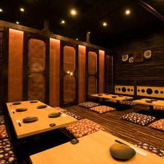 ◆最大25名様までの完全個室空間◆